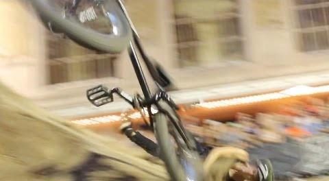 BMX Crash – Pat Casey's Bike Smashes Into The Crowd