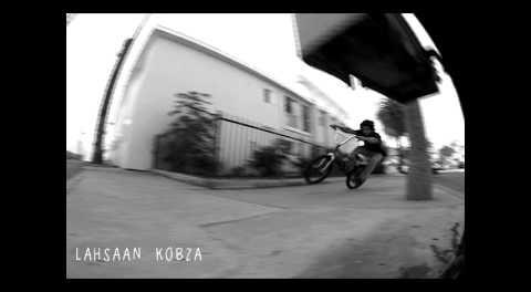 Lahsaan Kobza BMX Manual 180 Street