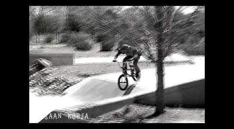 Lahsaan Kobza BMX Racer Gap