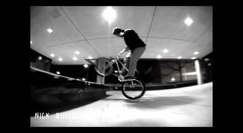 Nick Bullen BMX Street Ledge Line