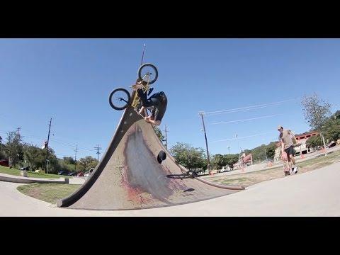 BMX – AUSTIN TEXAS HOUSE PARK SESSION