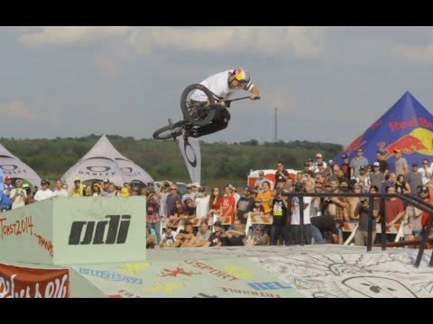 BMX – Garrett Reynolds Final Run At Texas Toast 2014