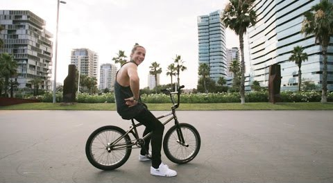 BMX in Barcelona – Kevin Nikulski @KHE Bikes
