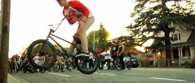 BMX- OSS STREET RIDE IN LA WITH SHAWN MAC