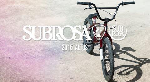 Altus – Subrosa 2015 Complete Bikes
