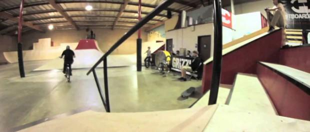 BMX at Los Angeles's only public indoor skatepark