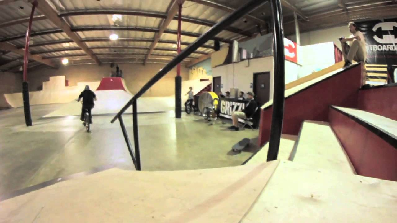 BMX at Los Angeles's only public indoor skatepark