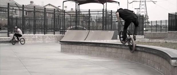 BMX: Julian Artega & Kordel Caro Skatepark Session