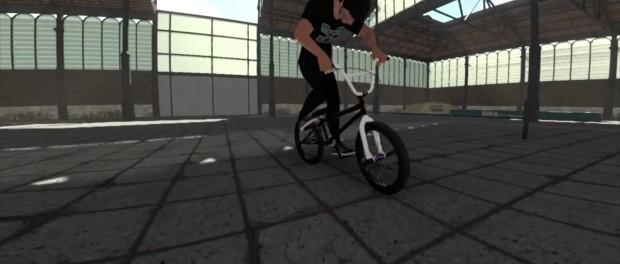 BMX VIDEO GAME SNEAK PEEK