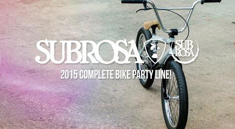 Salvador – Subrosa 2015 Complete Bikes
