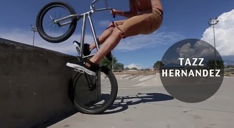Chain- & Brakeless BMX Riding – Tazz Hernandez
