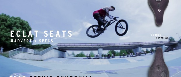 Eclat BMX Seats Feat. Stevie Churchill