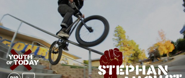 DIG BMX  – Stephan August – Youth Of Today