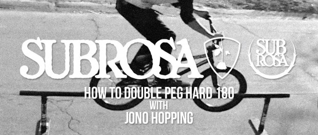 How To Double Peg Hard 180 with Jono Hopping