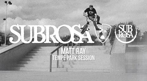 Subrosa – Matt Ray at Tempe Park
