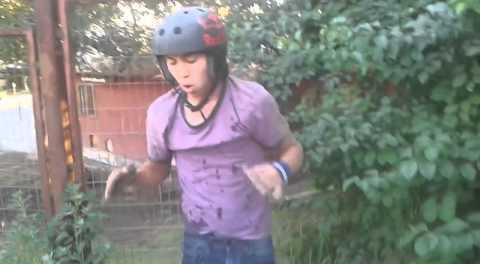 BMX – Awful Backflip Crash in Chile