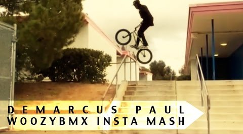 BMX STREET x PARK Demarcus Paul Insta MASH