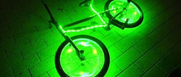 Crazy BMX LED Parkour Tricks!