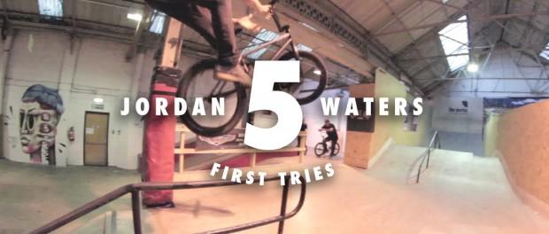 5 First Tries On A Rail: Jordan Waters