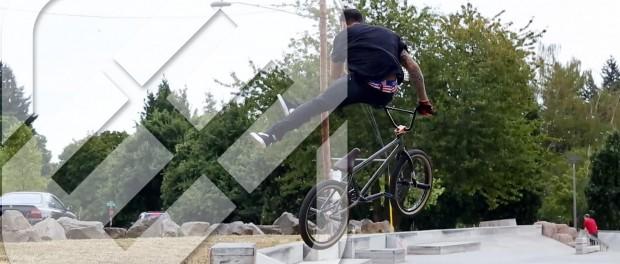 BMX – Ben Hucke Freegun Skatepark Video
