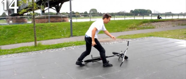BMX – Most Barspins in One Minute?
