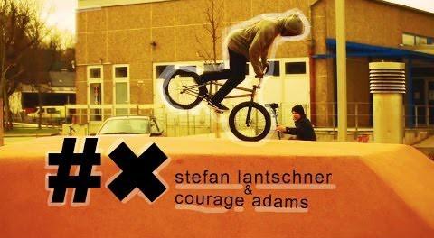 BMX Street – Courage Adams & Stefan Lantschner in Germany
