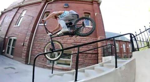 BMX STREET: JANTZEN FRAMPTON VIDEO 2014 #AWESOME