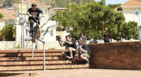 BMX – THE STREET SERIES ROUND 1 SOUTH AFRICA