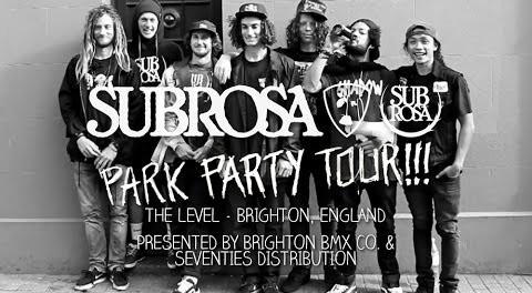 Brighton BMX Co. Park Party – Subrosa Brand