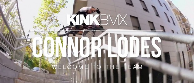 CONNOR LODES – WELCOME TO KINK BMX