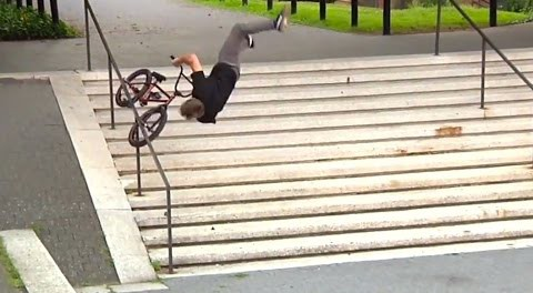 Dan Kruk – Ridiculous Handrail Crash