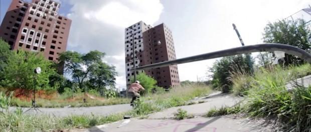 DIG BMX – Tyler Fernengel 'DIG BMX 96' Behind The Scenes In Detroit