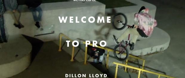 Dillon Lloyd – Welcome to WETHEPEOPLE PRO