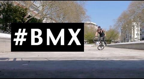 Epic Slow Motion BMX! #AWESOME
