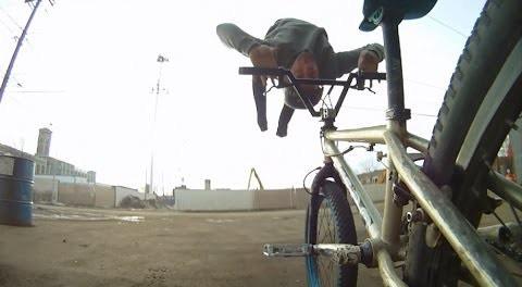 Insanely Creative Bike Tricks with Go Pro – Tim Knoll