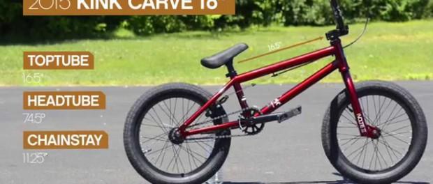 Kink 2015 Carve 16″ Complete Bike