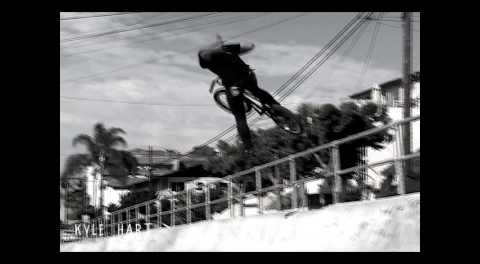 """Kyle Hart BMX Street Colombia """"1 sider"""""""