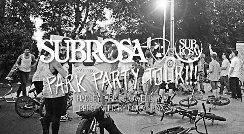 Local BMX Co. Park Party – Subrosa Brand