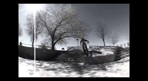 Mark Mulville BMX Steezy Turndown Line