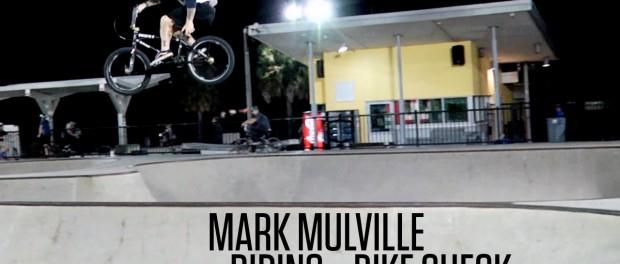 Mark Mulville – Riding + Bike Check