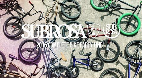 Party Line – Subrosa 2015 Complete Bikes