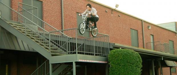 Sean Burns Roof to Rail BMX Crash