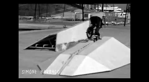 Simone Barraco BMX Rollercoaster Toothpick