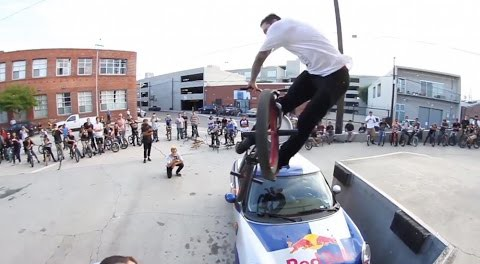 300 BMX Riders Take Over Los Angeles