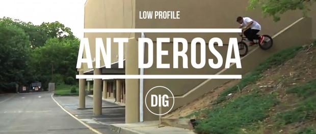 Anthony Derosa – Low Profile – DIG BMX