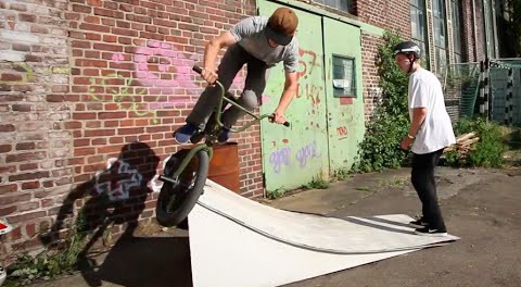 BMX: Over Tooth on Smallest RAMP Ever? Tag Team with Max & Felix