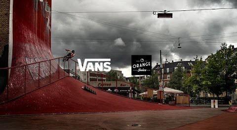 DIG BMX: Orange Juice X Vans Copenhagen