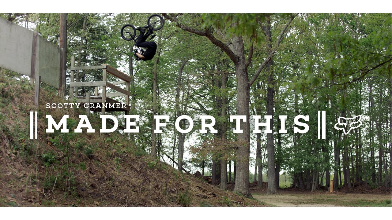 FOX BMX – SCOTTY CRANMER – MADE FOR THIS