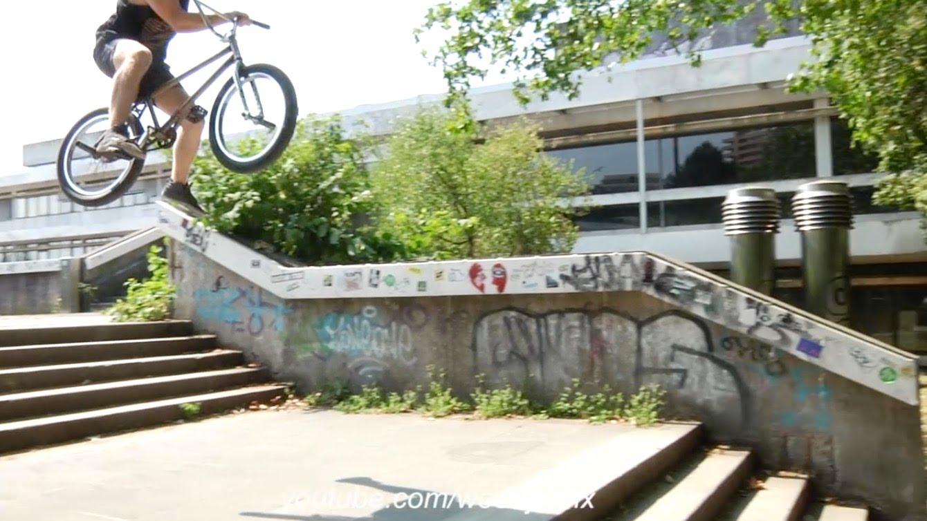 ✔️Wild One Footed X Up Gap! Slayer Tom – BMX STREET!