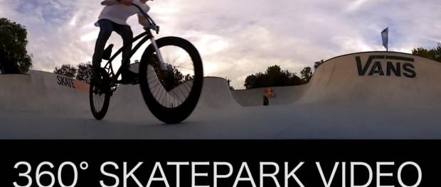 BMX – AMAZING 360 DEGREE VR SKATEPARK VIDEO